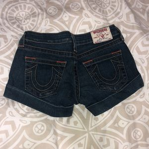 True Religion Jean Short